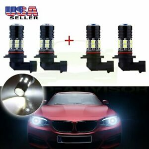 9005 9006 Cree Led 12 5050 Smd 6000k Headlight High Power Low Beam White Bulb