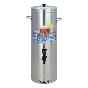 Bunn 33000 0001 Iced Tea Dispenser 5 Gallon Urn