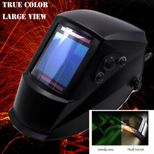 True Color 4 x3 7 View 2in1 Grind Welding Helmet Tig Welder Mig Gun Parts
