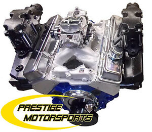 420hp 383 Sbc Base Long Block Marine Engine Custom Ski Jet Baja Boat Motor