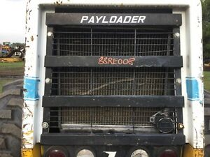 Dresser 515b Wheel Loader Steel Grille Some Paint Chipped