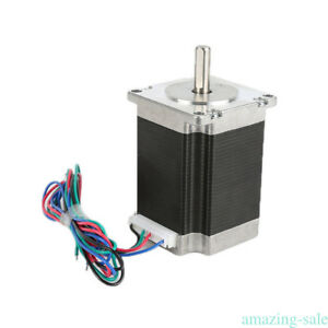 Cn Free Wantai 4axis Stepper Motor Nema23 2a Single Shaft Cnc driverkr Lot Bj