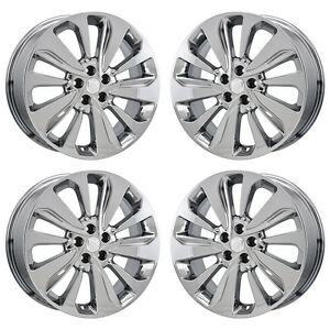 18 Buick Encore Pvd Chrome Wheels Rims Factory Oem 2017 2108 Set 97889 Exchange