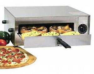 Wisco 412 5 nct Counter Top Commercial Electric Pizza Oven 12 Frozen Pizzas