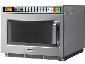 Panasonic Ne 17723 1700 Watt Commercial Microwave Oven 3 stage Cooking