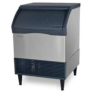 Scotsman Cu2026sa 1 Undercounter 200lb Ice Maker Machine W 80lb Bin Air Cool