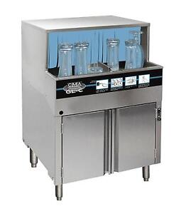 Cma Dishmachines Undercounter Carousel Glasswasher Cleans 1000 Glasses Hour