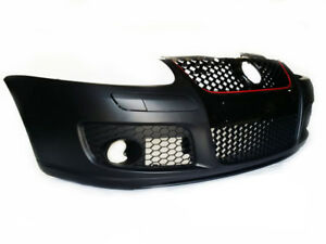 Vw Golf 5 V Mk5 06 09 Jetta Rabbit Gti Look Front Bumper With Grille