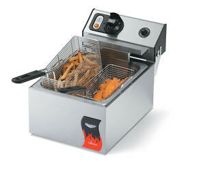Vollrath 40706 10lb Counter Top Fat Fryer Electric Standard Duty 220v
