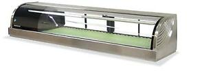 Hoshizaki Hnc 150ba 59 Refrigerated Sushi Glass Case Stainless Counter Top