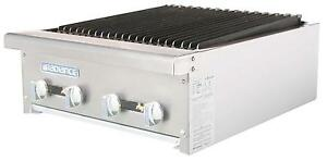Radiance Tarb 24 24 Counter Top Radiant Gas Commercial Broiler 60 000 Btu