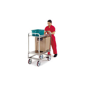 Lakeside 8840 22 x35 x50 1 8 Extreme Duty 2 tier Utility Cart
