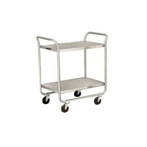 Lakeside 210 27 wx17 1 2 dx35 3 4 h Stainless Steel Utility Cart