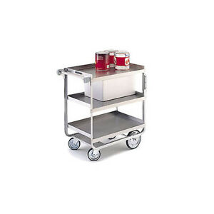Lakeside 722 19 3 8 x32 5 8 x35 1 2 Stainless Steel Welded Utility Cart