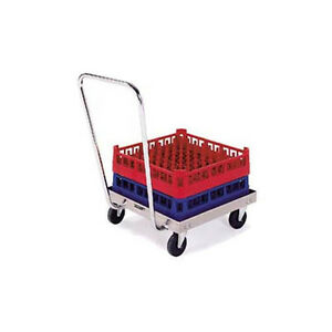 Lakeside 452 20 x20 Stainless Steel Platform Rack Dolly W Handle