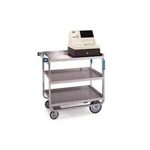 Lakeside 559 22 3 8 x54 5 8 x37 Stainless Steel Welded Utility Cart