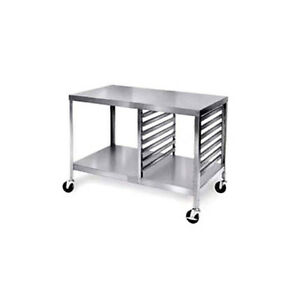 Lakeside 130 48 Portable Open Design Stainless Steel Work Table