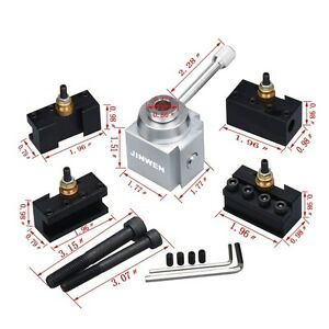 Tooling Package Mini Lathe Quick Change Tool Post Holders Multifid Cutting Tools