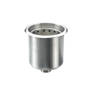 Krowne Metal 16 150 Stainless Steel Drop in Dipperwell With Overflow Insert