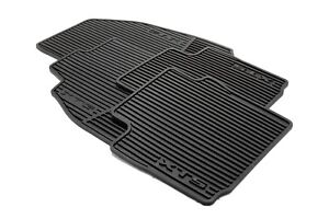 2013 2018 Cadillac Xts Gm Premium All Weather Black Floor Mats 22757756 Oem New