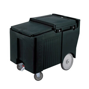 Cambro Ics175lb Sliding Lid Portable Ice Caddy W 175lb Ice Capacity