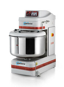 Univex Sl50 3ph Silverline 70qt Heavy Duty Spiral Dough Mixer