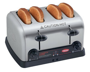 Hatco Tpt 240 qs Commercial Pop up Toaster Four 1 3 8 Slots 240v