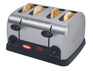 Hatco Tpt 208 qs Commercial Pop up Toaster Four 1 3 8 Slots 208v
