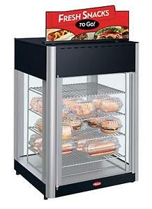 Hatco Fdwd 2 120 qs 2 Door Revolving Display Pizza Cabinet 4 tier Rack Impulse