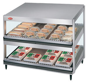 Hatco Grsds 30d 120 qs 30 Slanted Merchandising Display Warmer Dual Shelf