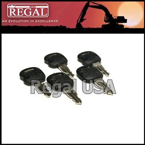 5 5p8500 Ignition Key Old Style For Caterpillar 5p 8500 0964753 0966198