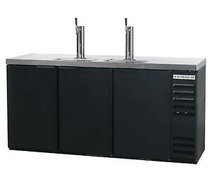 Beverage air Dd78hc 1 b 34 2 Cuft Four Keg Direct Draw Draft Beer Cooler