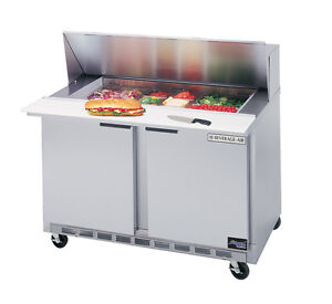 Beverage air 36 Cutting Top Refrigerated Sandwich Prep Table W 15 Pans
