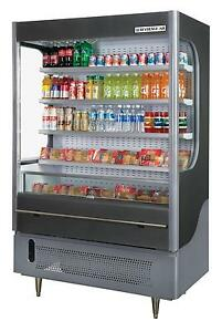 Beverage air Vm18 1 led 18 0 Cuft Vuemax Open air Curtain Cooler Merchandiser