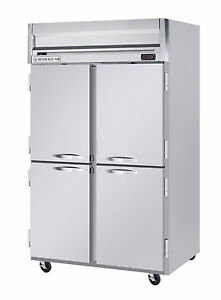 Beverage air 49 Cuft Horizon Series 4 door Reach in Freezer W S s Sides
