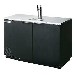 Beverage air Dd50hc 1 b 19 8 Cuft Two Keg Direct Draw Draft Beer Cooler