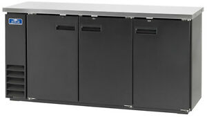 Arctic Air Abb72 72 3 Solid Door Back Bar Cooler