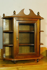 Old Wall Cabinet Hanging Cabinet Cupboard In Oak Wood Dutch
