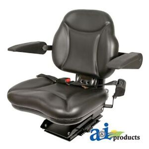 Universal big Boy Seat W Armrests Blk 330 Lb 150 Kg Weight Limit