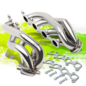For 11 14 Ford F 150 V8 4 1 Stainless Shortly Racing Exhaust Header Manifold