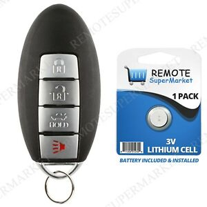 Replacement For Nissan 2013 2014 2015 Altima Remote Car Keyless Entry Key Fob