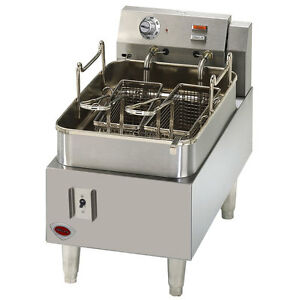 Wells F 15 15 Lb Countertop Electric Fryer With Thermostatic Controls