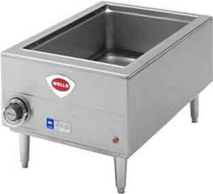 Wells Hw smp 12in X 20in Cook N Hold Countertop Bain Marie Food Warmer