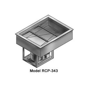 Wells Rcp 343 12 1 3 Size Pan Drop in Cold Food Well Unit