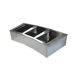 Wells Crcp 74 4 Well Curved Refrigerated Drop in Cold Food Unit