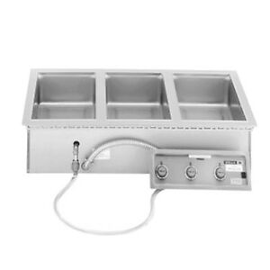 Wells Mod 327t 3 12 x27 Built in Top Mount Food Warmer