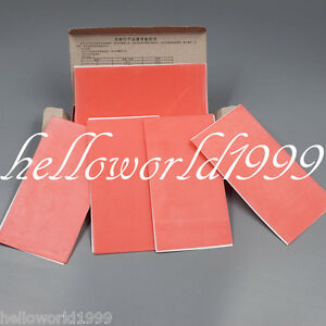 20 Pcs box 1 3mm Dental Lab Base Plate Red Wax Sheets Utility Supply Oral Care