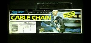 New Cable Snow Tire Chains 1042 P235 75r15 P235 70r15 P245 70r15