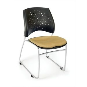 Ofm Stars Series Stack Chair Golden Flax