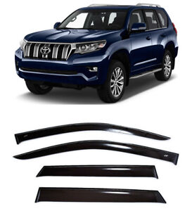 For Toyota Land Cruiser Prado 5d 2009 Window Visors Rain Guard Vent Deflectors